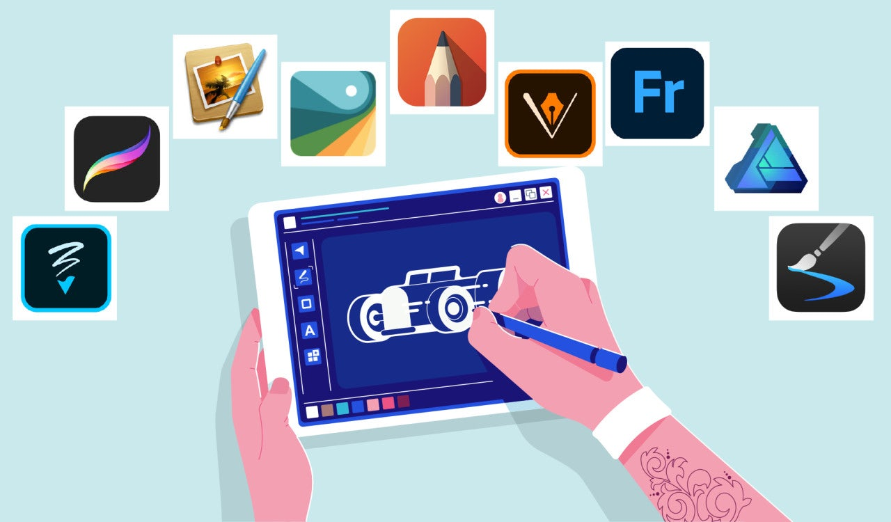 Android drawing sketch app