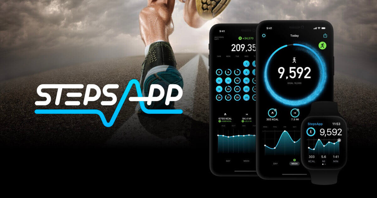 Step application for walking
